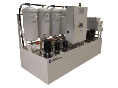 filtersystem för skärolja Transorfilter Sweden