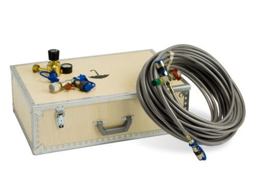 Gasfyllningsutrustning för SF6 N2 CO2 gas Transorfilter Sweden