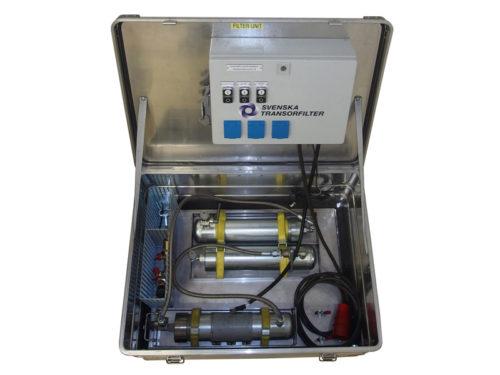 FV4C gashantering gasåtervinning av SF6 gas Transorfilter Sweden
