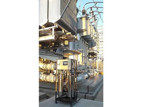 RCID On-Line torkfilter för cellulosaisolering Transorfilter Sweden