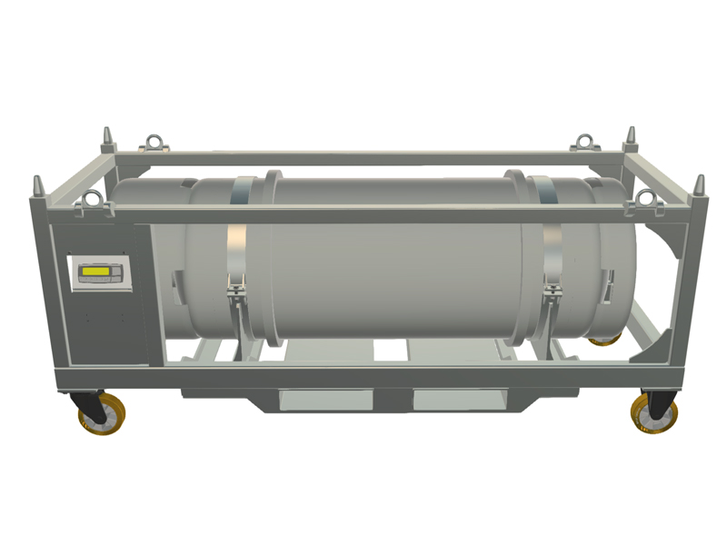 Tankvagn 600L gashantering gasåtervinning av SF6 gas Transorfilter Sweden
